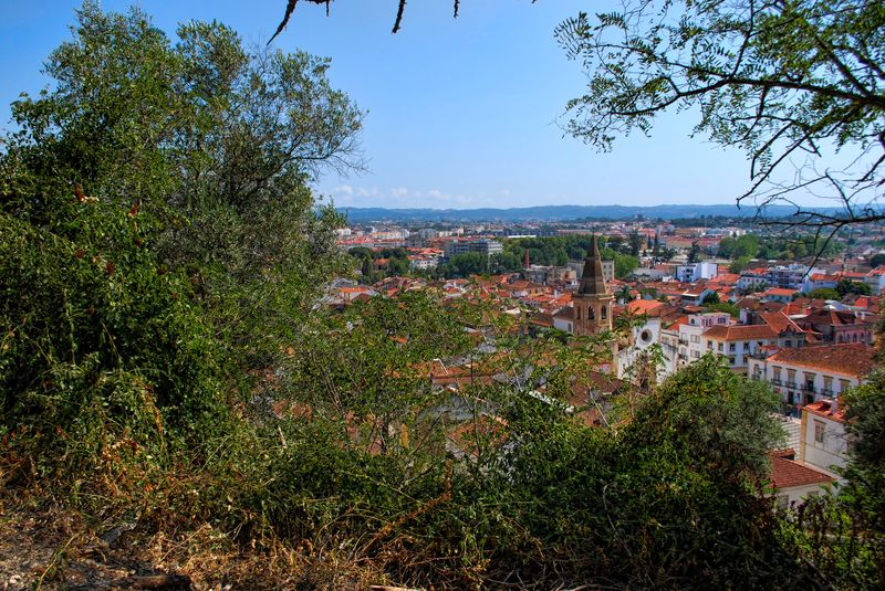 Panoramic view in my way up to the Castle of Tomar