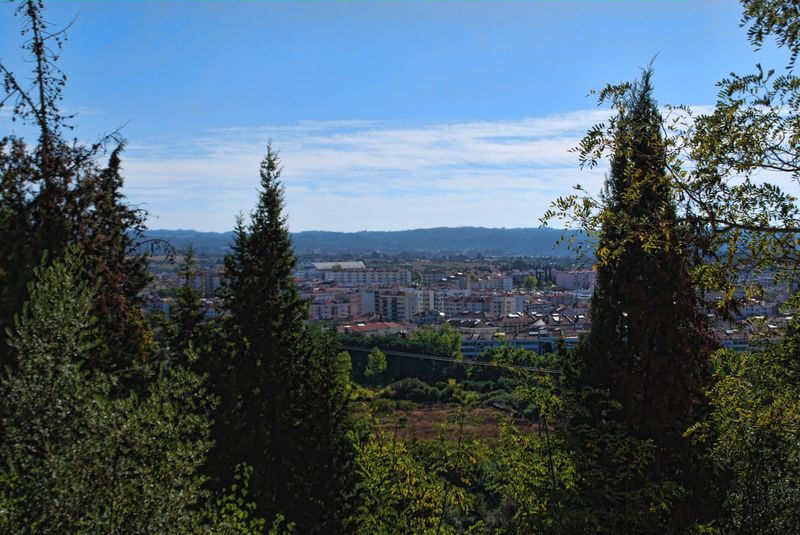Panoramic view of the City of Tomar, from the Chapel of Senhora Piedade