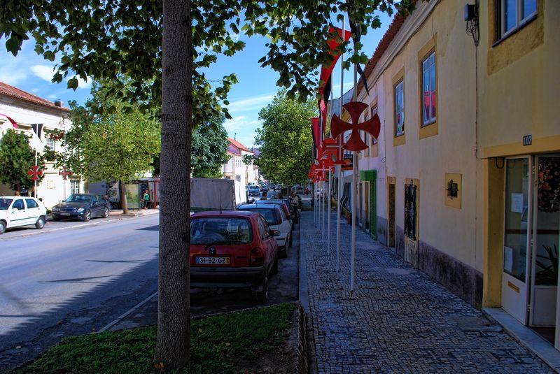 Avenida Cândido Madureira in Tomar, Portugal