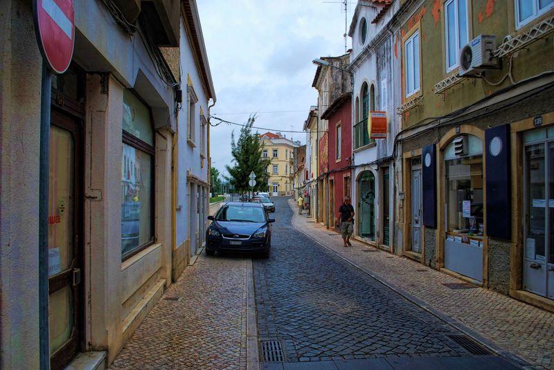Republican Centre Street, Tomar, Portugal