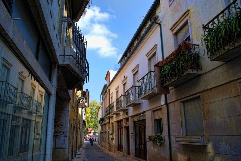 Rua do Camarão in the City of Tomar in Portugal