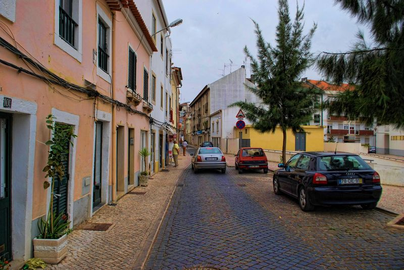 Rua do Centro Republicano, City of Tomar in Portugal