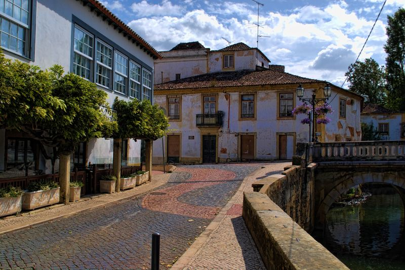 Rua Fonte do Choupo in Tomar