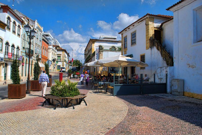 Rua Marquês de Pombal near Santa iria Coffee Shop in tomar
