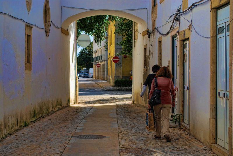 Travessa do Arco, City of Tomar, Portugal