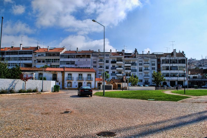 Apartments near the Camping Park of the City of Tomar in Portugal