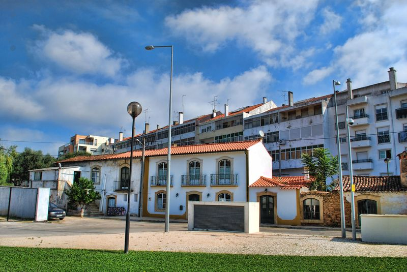 Apartments at Rua Fábrica de Fiação in the City of Tomar in Portugal