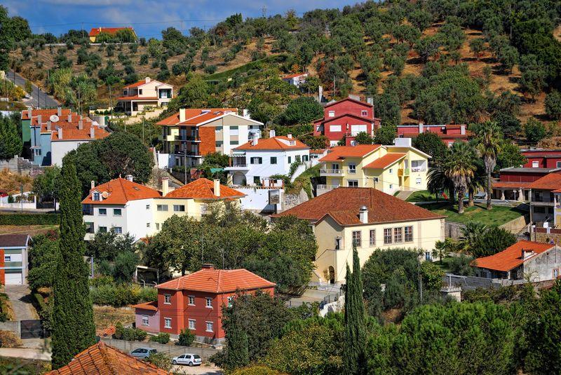 Drnhora da Conceição view of Tomar