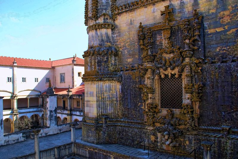 Janela do Capitulo, Convento de Cristo, Cidade de Tomar